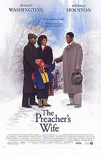 <i>The Preachers Wife</i> 1996 film by Penny Marshall