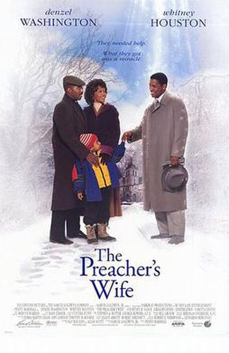 The Preacher's Wife - Theatrical release poster