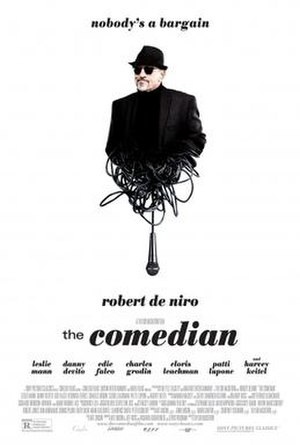 The Comedian (2016 film) - Theatrical release poster