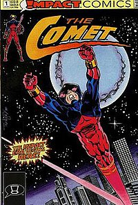The Comet (comic book, no. 1 - front cover).jpg