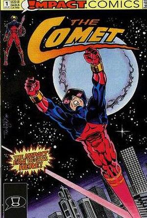 Comet (Impact Comics) - Image: The Comet (comic book, no. 1 front cover)