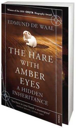 The Hare with Amber Eyes - Image: The Hare with Amber Eyes (Edmund de Waal novel) cover art