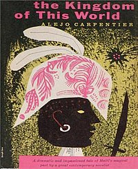 book cover featuring a Haitian man with a hat and a sword