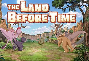 The Land Before Time (TV series) - Title card