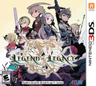 <i>The Legend of Legacy</i> role-playing video game