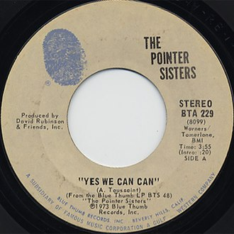 Yes We Can Can - Image: The Pointer Sisters Yes We Can Can