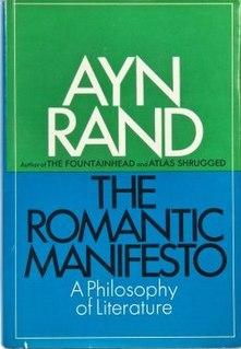 <i>The Romantic Manifesto</i> book by Ayn Rand