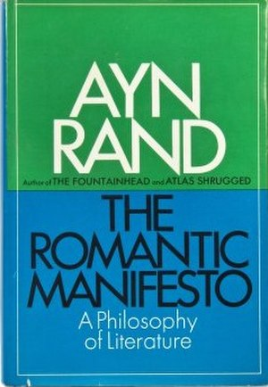 The Romantic Manifesto - Cover of the first edition