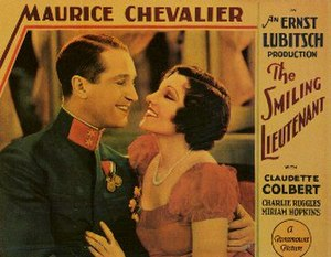 The Smiling Lieutenant - theatrical poster
