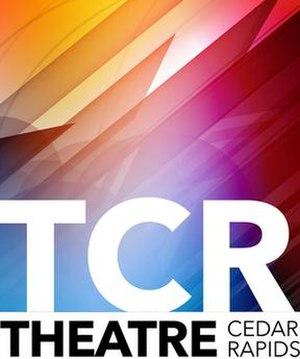 Theatre Cedar Rapids - Image: Theatre Cedar Rapids Logo