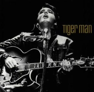 Tiger Man (album) - Image: Tiger Man Elvis album