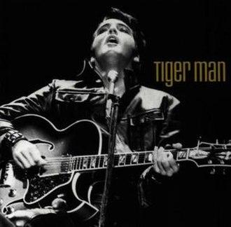 Tiger Man (album) - Image: Tiger Man Elvis album