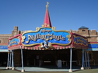 Mickeys PhilharMagic 3D attraction at Disney theme parks