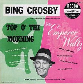 Top o' the Morning / Emperor Waltz - Image: Top o' the Morning Emperor Waltz album cover