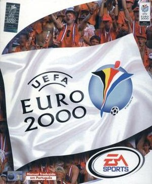 UEFA Euro 2000 (video game) - Image: UEFA Euro 2000 EA Sports