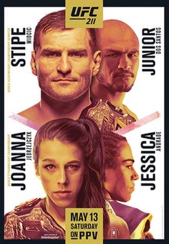 UFC 211 - Image: UFC 211 poster