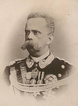 Giovanni Capellini - Umberto I of Italy, a lifetime friend and supporter of Capellini