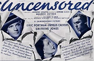 Uncensored (film) - Theatrical release poster