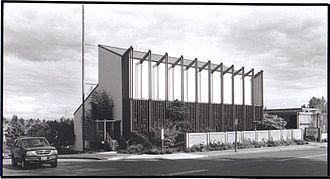 Paul H. Kirk - University Unitarian Church, Seattle, designed by Kirk and built 1955-1959.