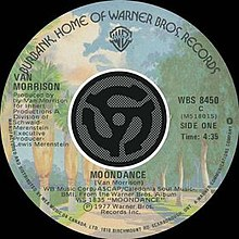 Van Morrison single Moondance.jpg