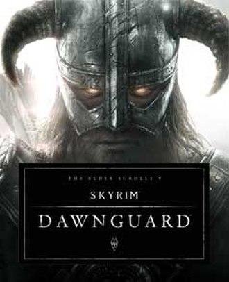The Elder Scrolls V: Skyrim – Dawnguard - Image: Video Game Cover Art for Dawnguard