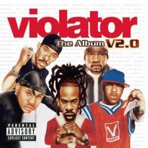 Violator: The Album, V2.0 - Image: Violator V2