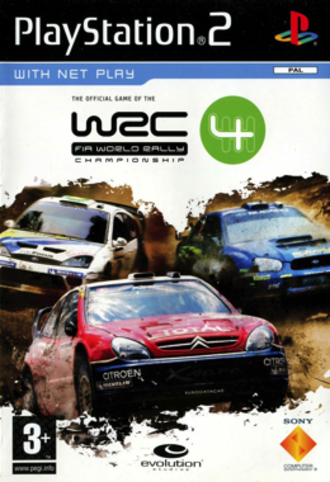 WRC 4 - PAL cover art