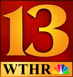 WTHR - WTHR's previous logo from 1995-2014.