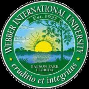 Webber International University - Image: Webber Seal