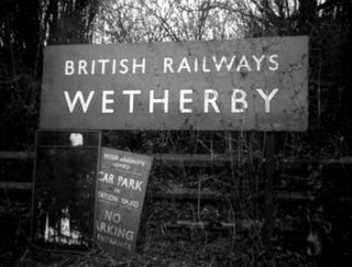 Wetherby (Linton Road) railway station railway station in Wetherby, Leeds, United Kingdom