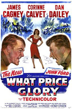 What Price Glory (1952 film) - 1952 Theatrical Poster