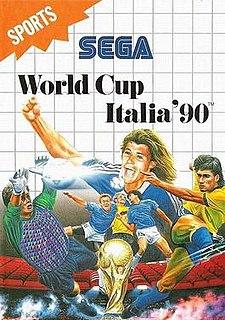 <i>World Cup Italia 90</i> 1990 association football video game