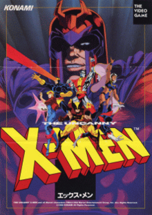 X-Men (1992 video game) - Wikipedia