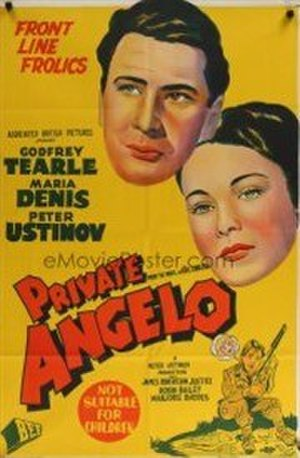 "Private Angelo (film) - Image: ""Private Angelo"" (1949 film)"