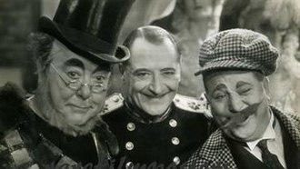 Royal Cavalcade - George Robey, Arthur Prince and Harry Tate