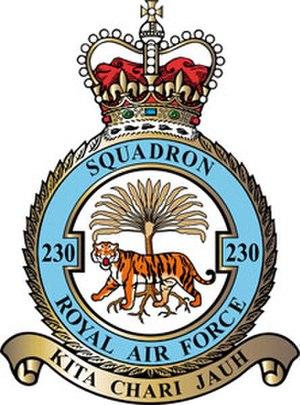 No. 230 Squadron RAF - Image: 230 Squadron RAF