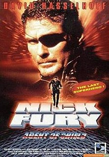 <i>Nick Fury: Agent of S.H.I.E.L.D.</i> (film) 1998 television film directed by Rod Hardy