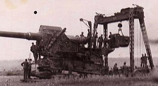 35.5 cm Haubitze M1 Type of Super-Heavy Siege Howitzer