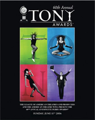 60th Tony Awards - Official poster for the 60th annual Tony Awards