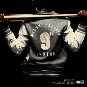 9th Inning - Image: 9thinningmissyelliot tcoversingle