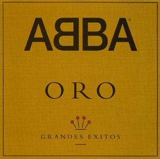 Oro: Grandes Éxitos - Image: ABBA Oro (1993)