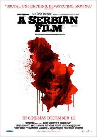 A Serbian Film - A Serbian Film poster in the United Kingdom
