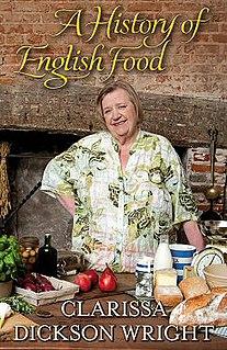 <i>A History of English Food</i> book by Clarissa Dickson Wright