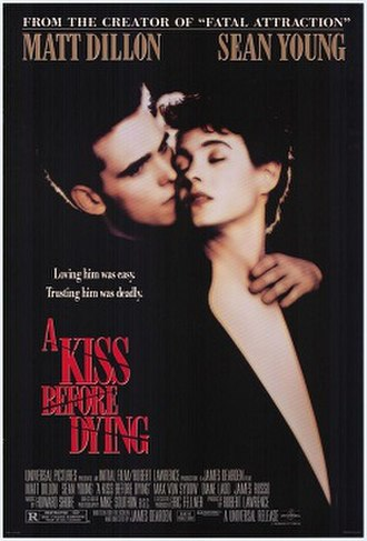 A Kiss Before Dying (1991 film) - Theatrical release poster