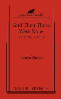 <i>And Then There Were None</i> (play) 1943 play