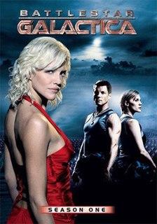 <i>Battlestar Galactica</i> (season 1) first season of the reimagined science fiction television series Battlestar Galactica