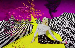 Baby Don't Lie - Stefani during the music video, where she is on the yellow brick road.