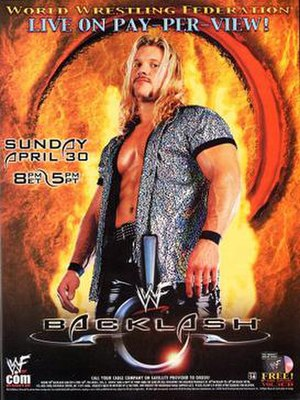 Backlash (2000) - Promotional poster featuring Chris Jericho