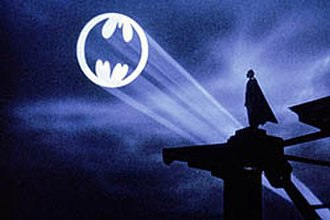 Bat-Signal - The Bat-Signal as it appears in the 1989 film Batman