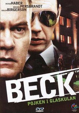 Beck – Pojken i glaskulan - Swedish DVD-cover